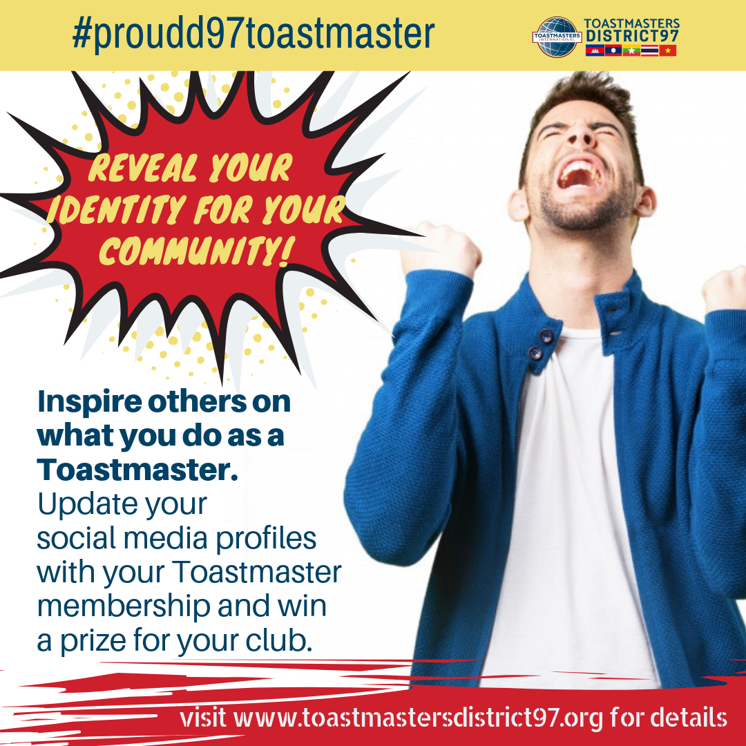 Proud Toastmaster Campaign